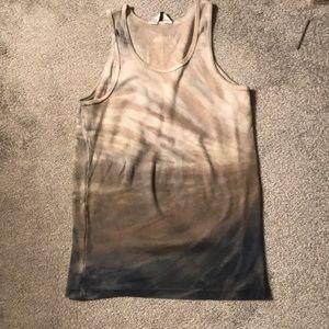 Hard Tail tank top tie dye